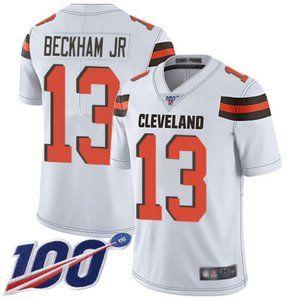 Browns Odell Beckham Jr 100th Season Jersey 4